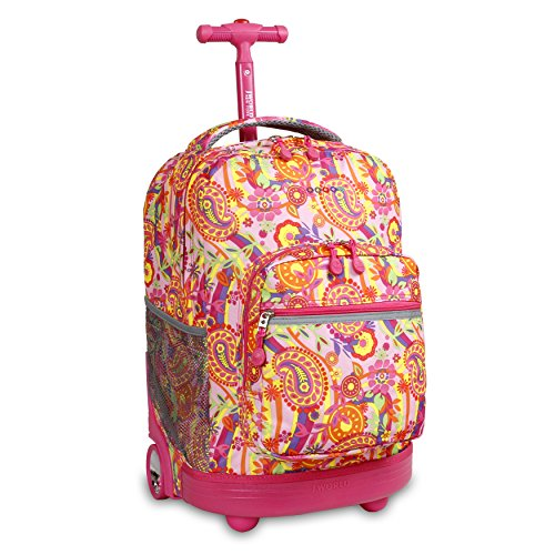 J World New York Sunrise, Pink Paisley, One Size
