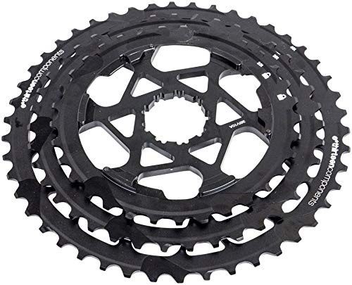 ethirteen Replacement Aluminum Cogs TRS Race 11-Speed Cassette, 33-46t, Black