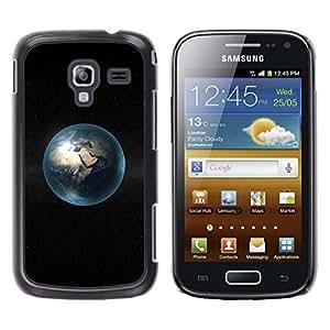 Be Good Phone Accessory // Dura Cáscara cubierta Protectora Caso Carcasa Funda de Protección para Samsung Galaxy Ace 2 I8160 Ace II X S7560M // Space Planet Minimalist Bubble