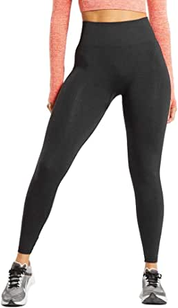 WODOWEI Women's High Waisted Seamless Leggings Tummy Control Gym Workout Yoga Pants