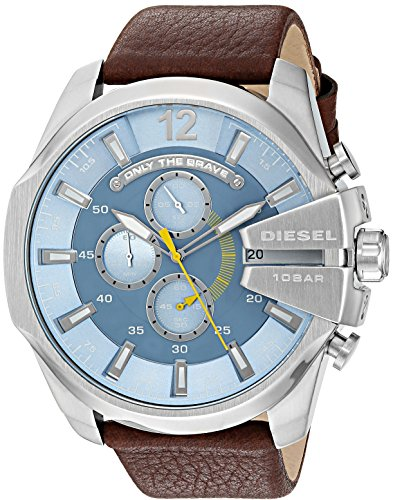 diesel-mens-dz4281-mega-chief-stainless-steel-brown-leather-watch