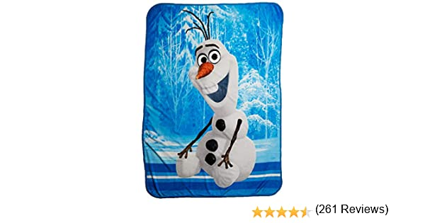 Disney Frozen Super Plush Throw 46 x 60 4SGM B00NJA2GFU