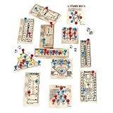 Wooden Peg Game Assortment - Child Party Games (1 dz), Model: IN-27-568, Toys & Play