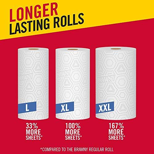 Brawny Paper Towels, 16 XL Rolls, Pick-A-Size, White, 16 = 32 Regular Rolls by Brawny (Image #10)