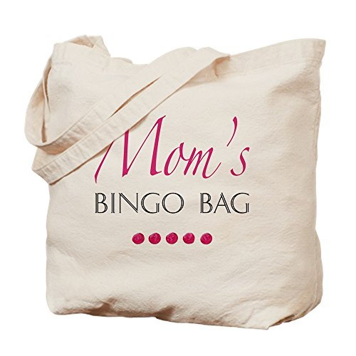 CafePress–mamá de Bingo Bolsa–Gamuza de bolsa de lona bolsa, bolsa de la compra Small caqui