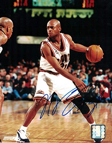 Nick Van Exel Autographed Signed Denver Nuggets 8x10 Photo - Certified Authentic ()
