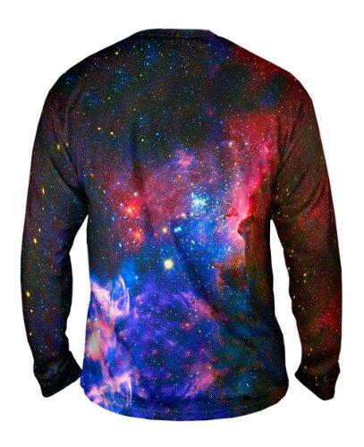 NewWorldCo- Carina Nebula Space Galaxy -Tagless- Mens Long Sleeve -4X