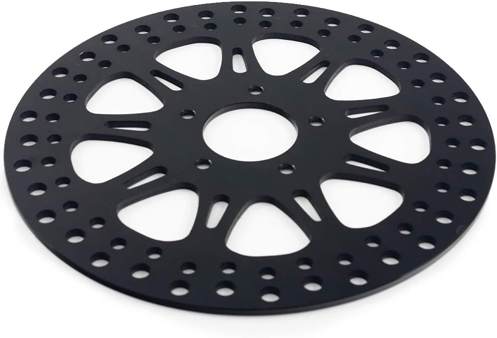 TARAZON 84-99 Black Front Brake Rotor Disc for Harley Softail,Bad Boy,Heritage,Springer,Fat Boy,Night Train//DYNA,Lower Rider,Wide Rider,Sport Glide//Sportster 883,1200