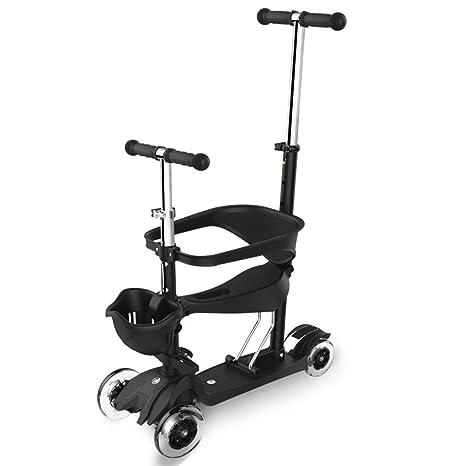 Guguogo - Patinete para bebé (3 en 1, 4 ruedas), diseño de ...