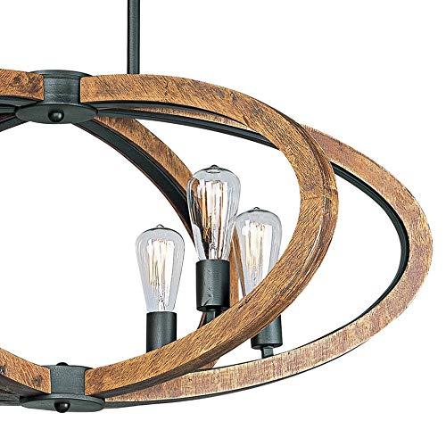 Amazon.com: Et iluminación bodega Bay 6-Light colgante: Home ...