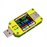RD UM34 USB 3.0 LCD Display Tester Voltage Current Meter Voltmeter Ammeter Battery Charge Cable Resistance Measurement No Communication Version