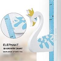 Wopeite Medidor de altura 3D para niños, Gráfico