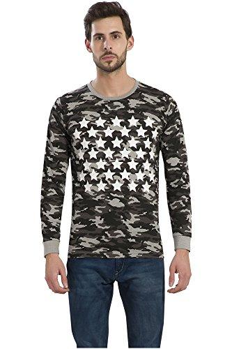 Alan Jones Army Printed Men's Round Neck T Shirt