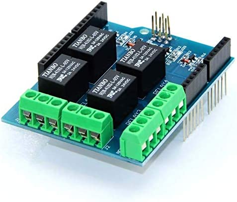 ZT-TTHG クラシック5V 4-CHリレーモジュールの拡張ボードの交配適用公式スポットSteuermodul