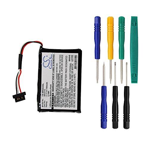 - 720mAh Battery for Magellan RoadMate 2045, 2045T-LM, RoadMate 2055, RoadMate 2055T-LM, 2120T, 2120T-LM, 2136T-LM, 2145T-LM with 7/pcs Toolskits