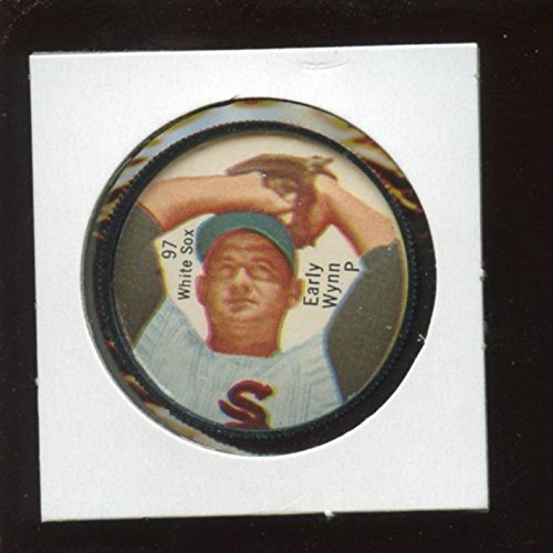 1962 Salada Baseball Coin #97 Early Wynn Pitching Variation (Salada Baseball Coins)