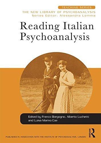 Reading Italian Psychoanalysis (New Library of Psychoanalysis Teaching Series) (2016-04-27)