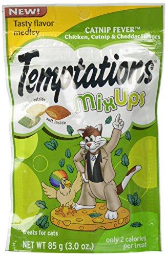 Temptations Mix-Ups Chicken, Catnip and  Cheddar Flavor Cat Treats