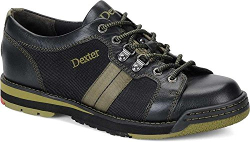 Dexter Men's SST Tank Bowling Shoes, Black/Olive, 11, Left Hand by Dexter