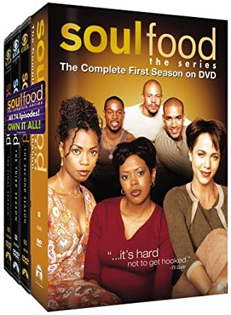 Amazoncom Soul Food The Series Complete Series Pack Aaron