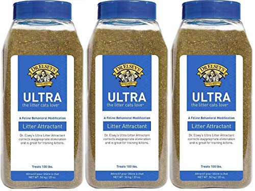 Dr Elsey Cat Attract Cat Litter - Dr. Elsey's Precious Cat Ultra Litter Attractant (3 Pack - 20 oz)