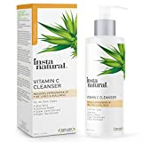Vitamin C Facial Cleanser - Anti Aging, Breakout & Blemish, Wrinkle Reducing, Exfoliating Gel Face Wash - Clear Pores on Oily, Dry & Sensitive Skin with Organic & Natural Ingredients - 6.7 oz