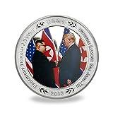 Donald J. Trump and Kim Jong-Un Challenge Coin