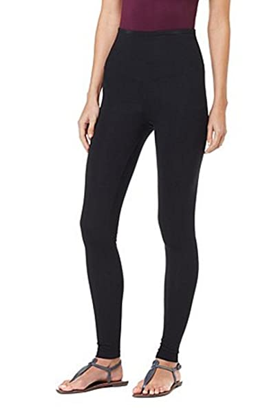 Yummie Tummie Tapered Leg Shaping Legging Yoga Pants ~Black