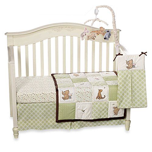 My Friend Pooh 4 Piece Baby Crib Bedding Set by Disney Baby by Disney