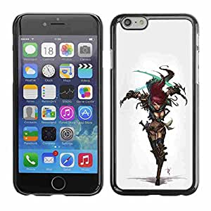 """Shell-Star ( Cool Sexy Cosplay Warrior Girl Armor ) Fundas Cover Cubre Hard Case Cover para 5.5"""" iPhone 6 Plus"""