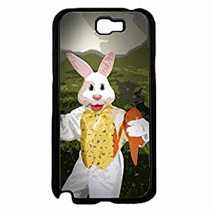 Easter Bunny Plastic Phone Case Back Cover Samsung Galaxy Note II 2 N7100