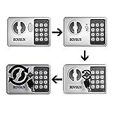 ROVSUN 0.17 CF Electronic Security Safe Box Mini