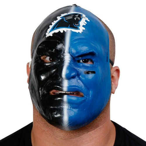 - Franklin Carolina Panthers Fan Face Mask