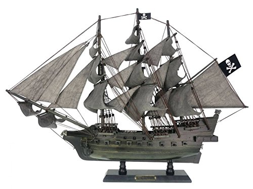 - Handcrafted Nautical Decor Wooden Flying Dutchman Limited Model Pirate Ship 26