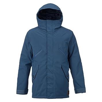 Burton Chaqueta de Snowboard Breach Jacket, otoño/Invierno, Hombre, Color Washed Blue