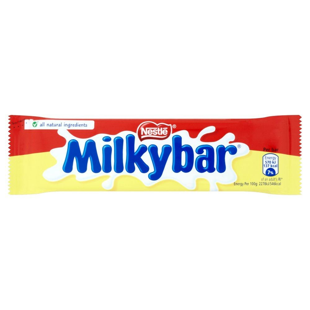 Nestle Milkybar Medium - 25g - Pack of 6 (25g x 6 Bars)