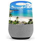 Skin Decal Vinyl Wrap for Google Home stickers skins cover / Tropical Paradise Palm Trees