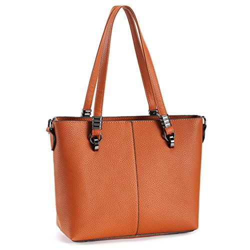Tote Women Purse Joy Magic Brown Bag Tote Leather Handbags Shoulder Top amp; PU Satchel Handbags Handle Bag vqxwO5x6