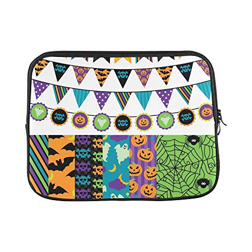 Design Custom Collection Halloween Themed Bunting Sleeve Soft Laptop Case Bag Pouch Skin for Air 11