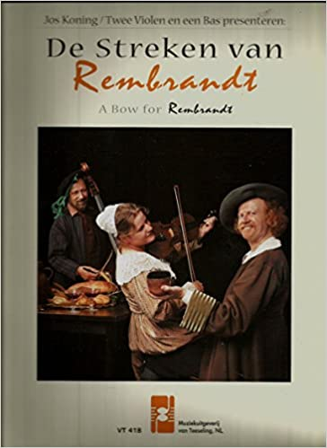 music from 1600 1700 for c instruments de streken van rembrandt by jos koning import songbook