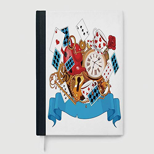 Casebound Hardcover Notebook,Alice in Wonderland,College for sale  Delivered anywhere in USA