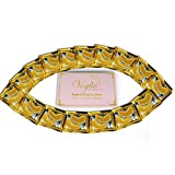 24k Gold Eye Mask Collagen - by Vogue Effects (15 Pairs), Hyaluronic Acid Treatment for Puffy Eyes, Dark Circles Corrector, Used for Under Eye Bags, Anti Aging Mask for Women & Men