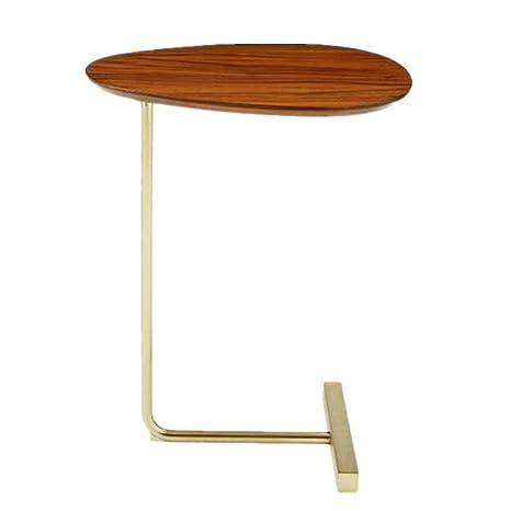 Amazon.com: Pequeña mesa de café redonda personalizada mesa ...