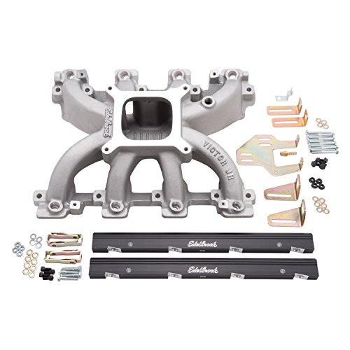 Edelbrock 29086 Victor Jr. LS1 EFI Intake Manifold and Fuel Rail Kit Edelbrock Fuel Rails