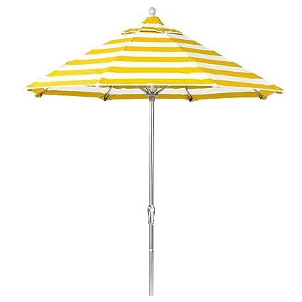 Amazon Com 11 Ft Commercial Grade Fiberglass Market Umbrella With
