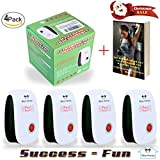 Ultrasonic Pest Repeller By Bliss Henry - Nontoxic Pest Control Plug-In Device For Your House