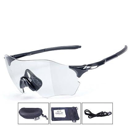 daf05e25bad YJZ Polarized Sports Photochromic Sunglasses Frameless UV400 Protection  Durable Frame Men Women Universal Outdoor Glasses Cycling Fishing Driving  Hiking