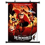 The Incredibles Movie Wall Scroll Poster (32x47) Inches