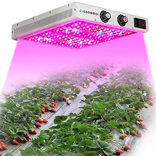 Maxbloom 600w Led Plant Grow Light Full Spectrum Plant Growing Lamp With Uv Ir Dimmable Veg Bloom Channel For Greenhouse And Indoor Plants Veg And Flower