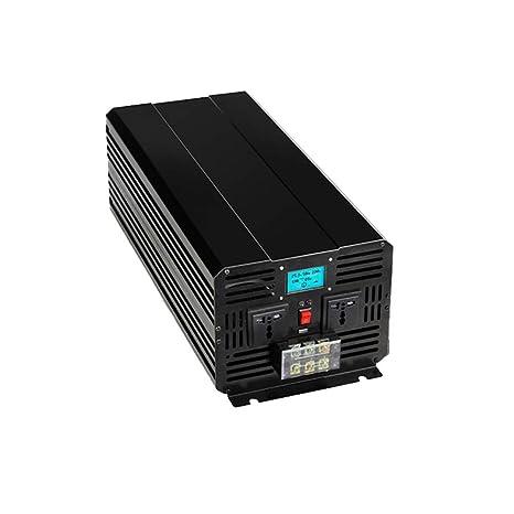 XINGXINGNS 5000w Inversor de Corriente Coche DC 12V a AC 220V-240V ...